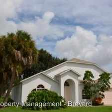 Rental info for 1686 Rustic Way in the 32935 area