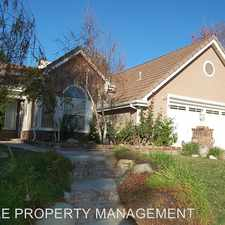 Rental info for 2773 WESTHAM CIR in the Simi Valley area