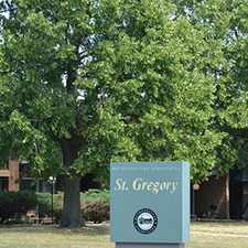 Rental info for St. Gregory