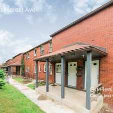 Rental info for 101 W Bellecrest Ave in the Carrick area