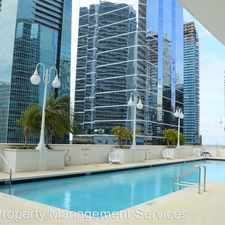 Rental info for 1200 Brickell Bay Drive Apt# 3605 in the Downtown area