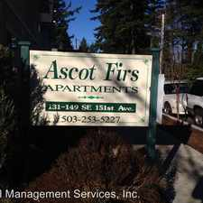 Rental info for 131 - 149 SE 151st Avenue Ascot Fir in the Old Town Chinatown area