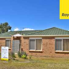 Rental info for OPEN HOME: SAT 16 SEP @ 9:00AM 4 BED. 2 BATH. LOCK UP GARAGE. LARGE BACKYARD. in the Springfield area