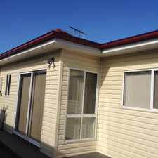 Rental info for 2 BEDROOM GRANNY FLAT