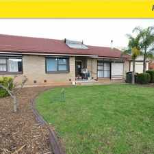 Rental info for 3 BEDROOM FAMILY HOME in the Elizabeth Downs area