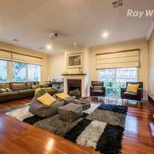 Rental info for A CONTEMPORARY LIFESTYLE in the Melbourne area