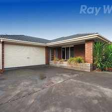 Rental info for MODERN LIVING IN A QUIET COURT LOCATION in the Mooroolbark area