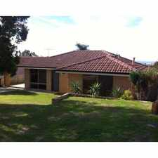 Rental info for FAMILY HOME WITH POOL in the Perth area