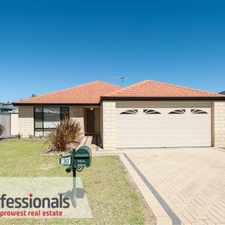 Rental info for GOOD SIZED FAMILY HOME in the Rockingham area
