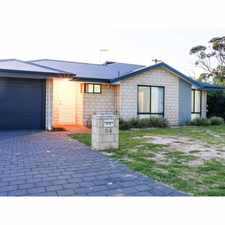 Rental info for CONVENIENT, LOW MAINTENANCE & CLOSE TO PERTH CITY