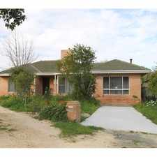 Rental info for PRICE REDUCED!! SPACIOUS LIVING AREAS & BORDERING DIANELLA
