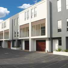 Rental info for Near New 3 BDR townhouse, excellent location! For private viewings, please contact Judy on 9782 9333 in the Melbourne area