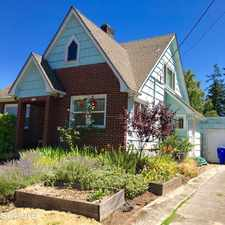 Rental info for 5406 SE 52nd Ave in the Woodstock area