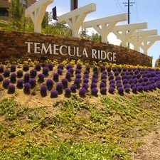 Rental info for Temecula Ridge