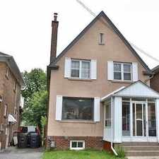 Rental info for 99 Melrose Avenue in the Lawrence Park North area