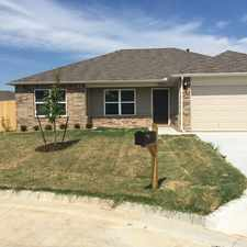 Rental info for 2821 Lariat Lane in the Claremore area