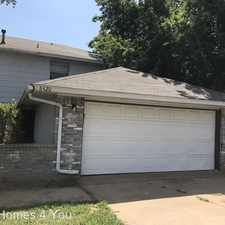 Rental info for 8420 Candlewood Drive in the 73162 area