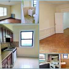Rental info for 496 Park Ave in the Newark area