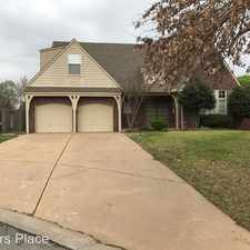 Rental info for 9141 E 101st Pl S in the Bixby area