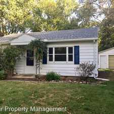 Rental info for 1208 Briarcliff in the Urbana area