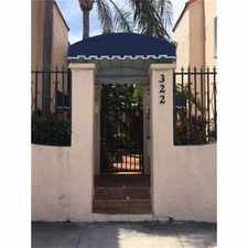 Rental info for 322 Monroe Street #104A in the Hollywood area