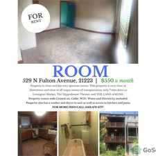 Rental info for Newly Available Spacious ROOM for Rent in the Harlem Park area