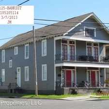 Rental info for 3125 Banks-A in the Gert Town area