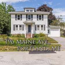 Rental info for 196 Maine Ave
