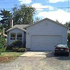 Rental info for 11032 SW 47th Ave. in the West Portland Park area
