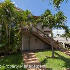 Rental info for 91-1056 Mikohu St #7C Palm Villas II