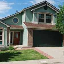 Rental info for Four Bedroom In Colorado Springs in the Colorado Springs area