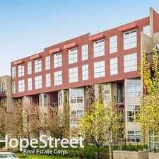 Rental info for 315 24 Avenue SW - 1 Bedroom Apartment for Rent in the Mission area