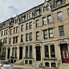 Rental info for 1222 St. Paul Street in the Baltimore area