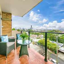 Rental info for ONE WEEK FREE RENT! Tastefully Renovated Interiors with Updated Kitchen - City views in the Brisbane area