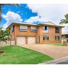 Rental info for 5 Bedrooms with a Pool! in the Rockhampton area