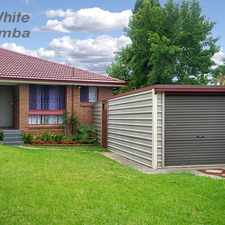 Rental info for FANTASTIC DUPLEX and SELECTIVE SCHOOL ZONE!!!! in the Macquarie Fields area