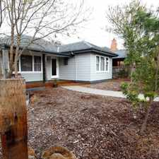 Rental info for Renovated Gem! in the Geelong area