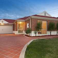 Rental info for UNDER APPLICATION: Comfortable and Spacious Family Living in the South Morang area