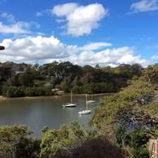 Rental info for 3 BEDROOM HOME WITH WATER VIEWS in the Sydney area
