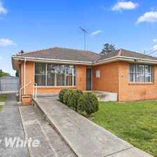 Rental info for Perfect Location! in the Geelong area