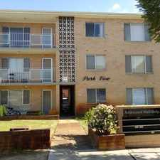 Rental info for BEAUTIFUL SCENIC VIEW OF HYDE PARK!! in the Perth area