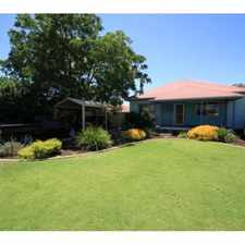 Rental info for CLOSE TO SCHOOLS, SHOPS AND TRANSPORT, Sorry No Pe in the East Bunbury area