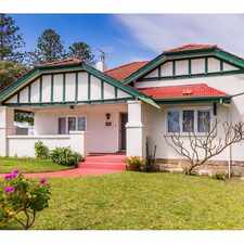 Rental info for Easy living close to the beach! in the Cottesloe area