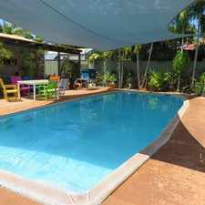 Rental info for Tidy Unit with Shared Pool in the Broome area