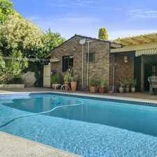 Rental info for Spacious, family home in the Perth area