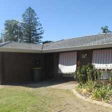 Rental info for LARGE BLOCK 1 MINUTE WALK TO DUDLEY PARK PRIMARY in the Perth area