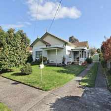 Rental info for LOVELY 3 BEDROOM WEATHERBOARD HOME IN EXCELLENT LOCATION