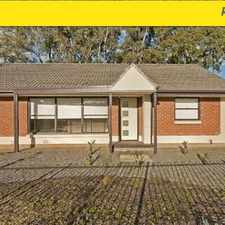 Rental info for 3 BR Home LEASED in the Smithfield Plains area