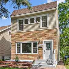 Rental info for JUST LISTED~WALK TO DOWNTOWN DES PLAINES~BEAUTIFULLY REMODELED TWO STORY~WOW!