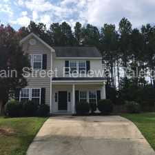 Rental info for Nice Two-Story Home In Knightdale